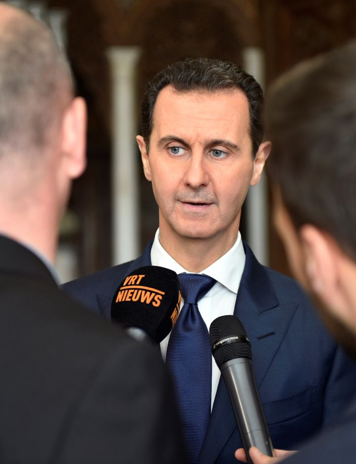 Syria's President Bashar al-Assad defended the logic of Trump's Muslim travel ban in an interview broadcast on Thursday