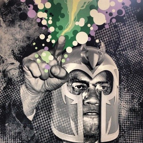 It is well documented that Malcolm X was Jack Kirby and Stan Lee's original inspiration for Magneto, whereas Martin Luther Ki