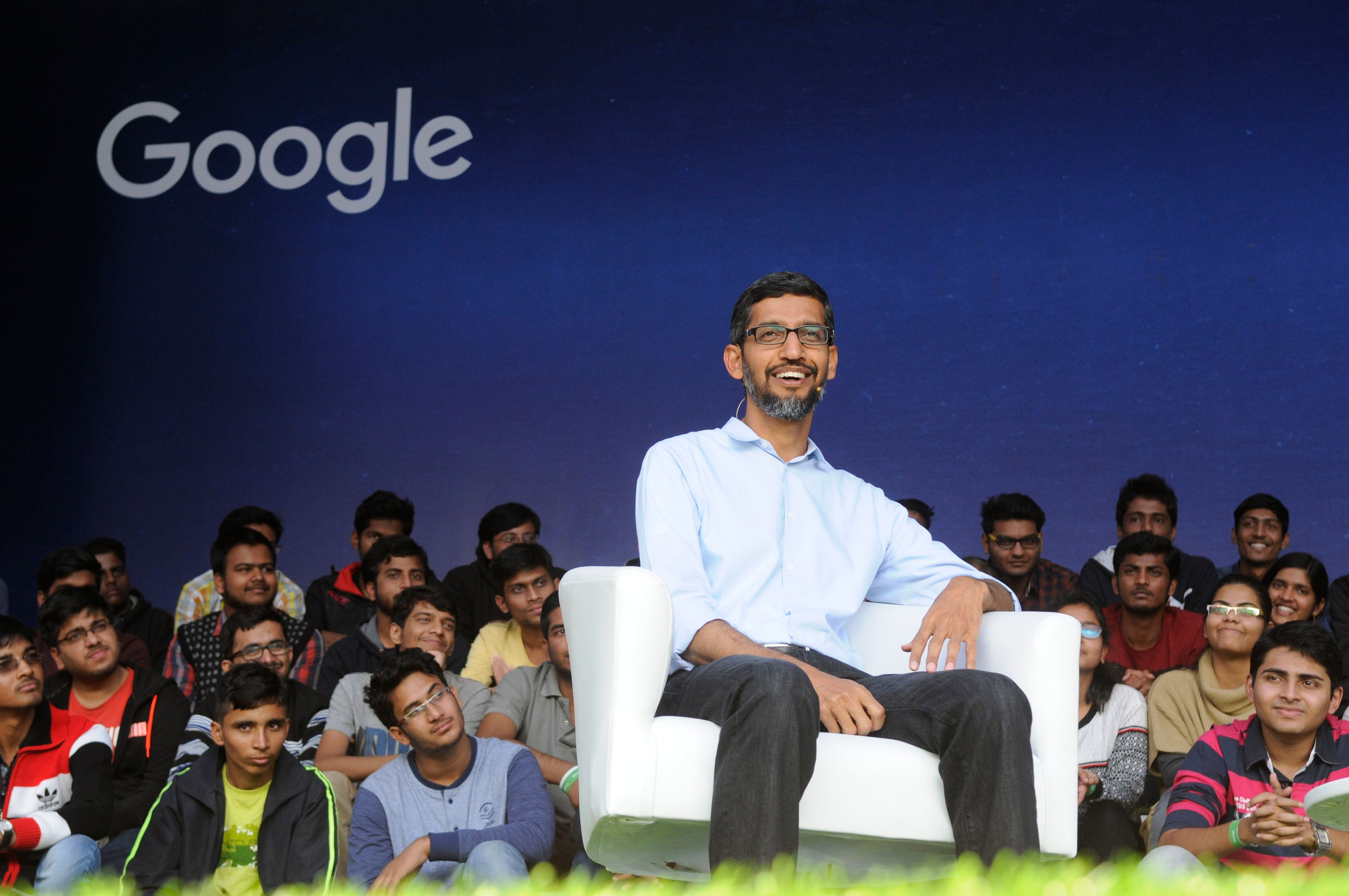 A Seven-Year Old Asked Google's CEO For A Job And He