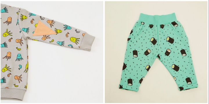 Left: Sweatshirt, £35.20. Right: Leggings, £22.