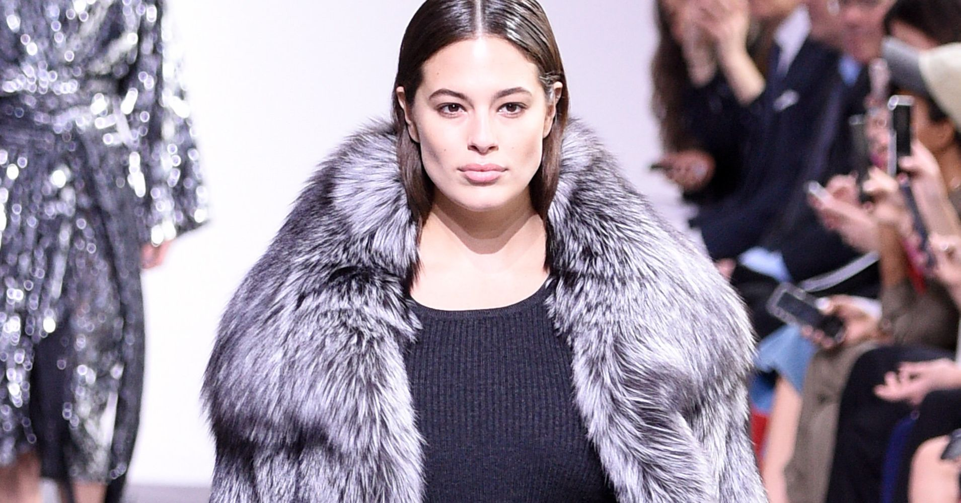 5092a8b09b4 Michael Kors FINALLY Put A Plus-Size Model On The Runway