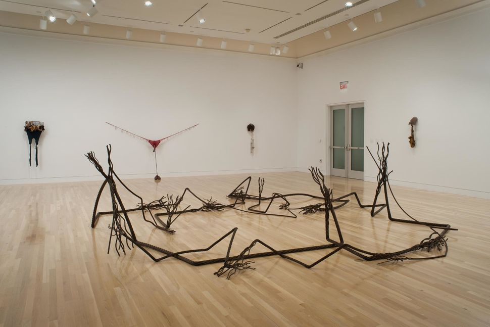 "Maren Hassinger, ""A Place for Nature,"" 2011, wire rope, dimensions variable"