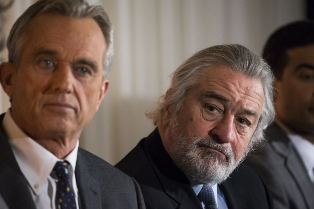 Robert De Niro Joins Robert Kennedy Jr. In Questioning Safety Of