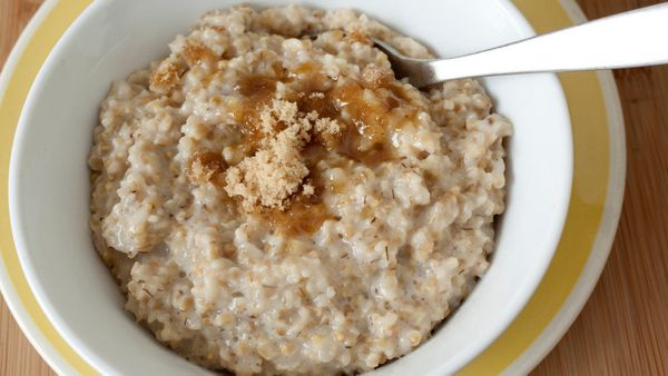 """1 pack of <a href=""""http://www.quakeroats.com/products/hot-cereals/instant-oatmeal/maple-and-brown-sugar.aspx"""" target=""""_blank"""""""