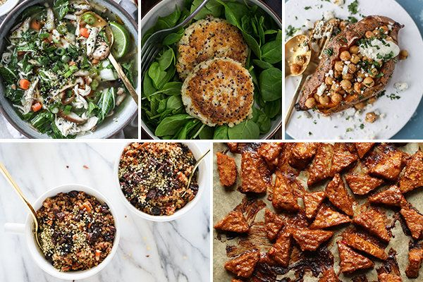 These five healthy recipes can feed you all week if you put a couple hours into it this Sunday.