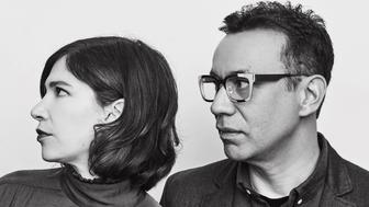 Jonathan Krisel, Carrie Brownstein and Fred Armisen from IFC's 'Portlandia' pose in the Getty Images Portrait Studio at the 2017 Winter Television Critics Association press tour at the Langham Hotel on January 14, 2017 in Pasadena, California. (Photo by Maarten de Boer/Getty Images Portrait)