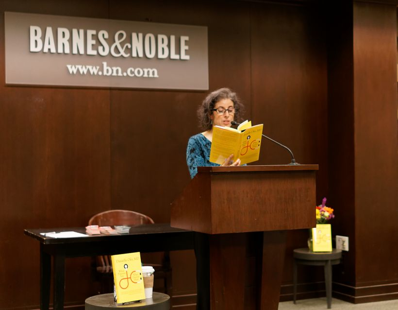 Dr. Ofri at her book launch/reading in Manhattan February 8