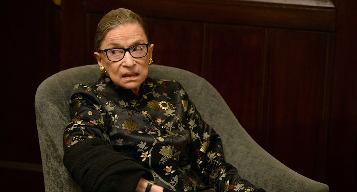 RBG at the Temple Emanu-El Skirball Center on September 21, 2016 in NYC.