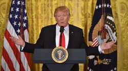 Trump Holds Press Conference To Attack 'Out Of Control'