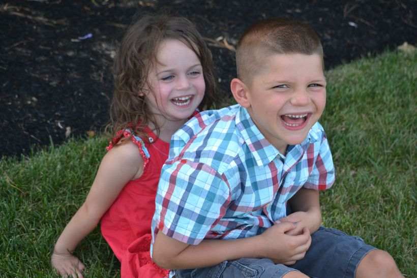 My kids are my greatest examples of how to live in the present.