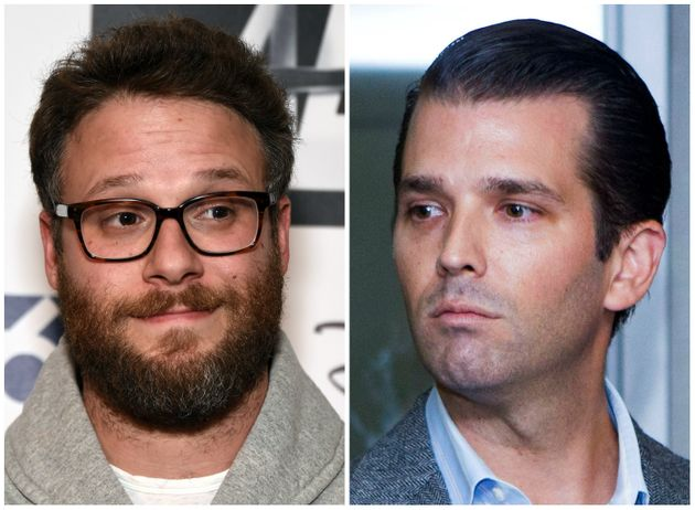 Seth Rogen is trying to reason with Donald Trump Jr. on Twitter