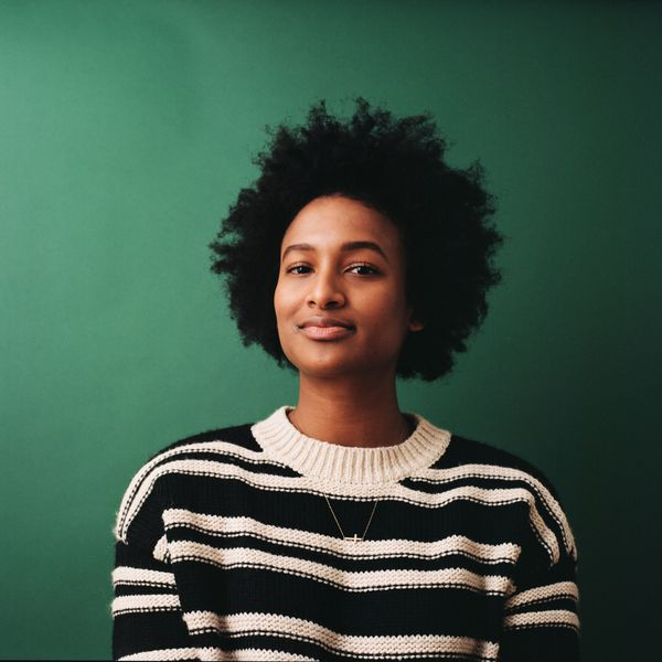 """A pivotal moment for me and a true expression of black joy, was probably when I big chopped my hair actually. So I've"