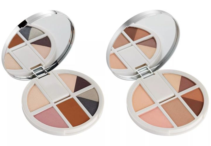 The Goal Digger, left, and Dream Chaser palettes.