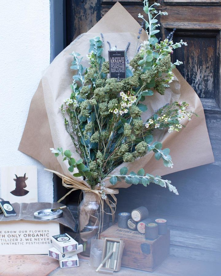This Dope Marijuana Bouquet Is What Romance Is All About | HuffPost