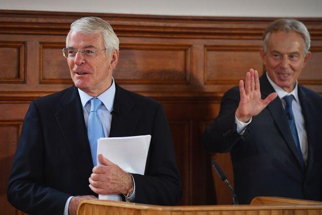 Sir John Major and Tony