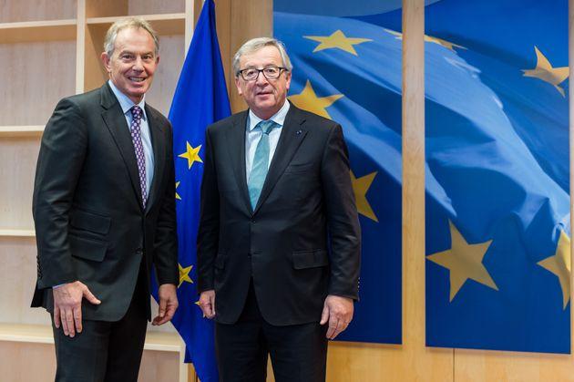 Tony Blair and Jean-Claude