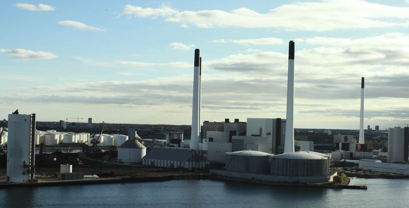 The Amagervaerket Power Station in Copenhagen, which utility company HOFOR plans to fully convert to sustainable biomass by 2