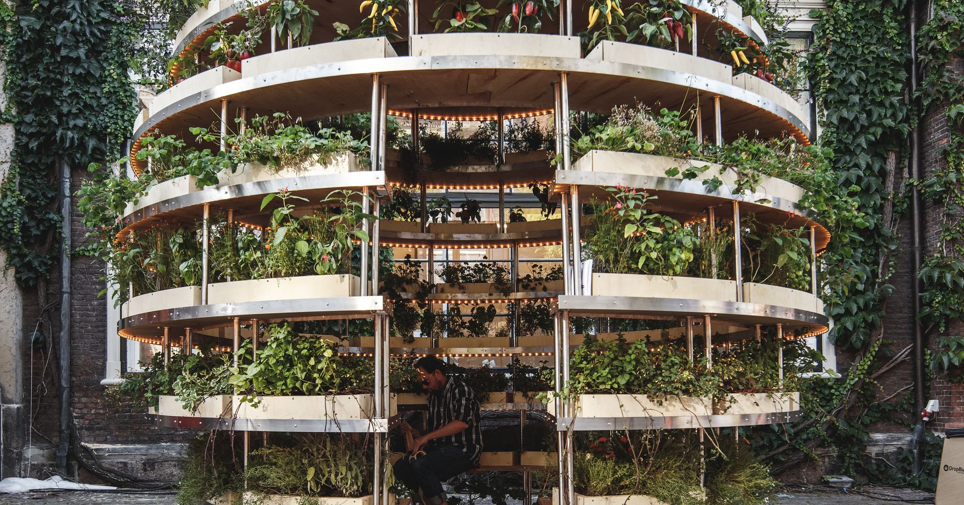 Ikea Lab Releases Free Designs For A Garden Sphere That Feeds A ...