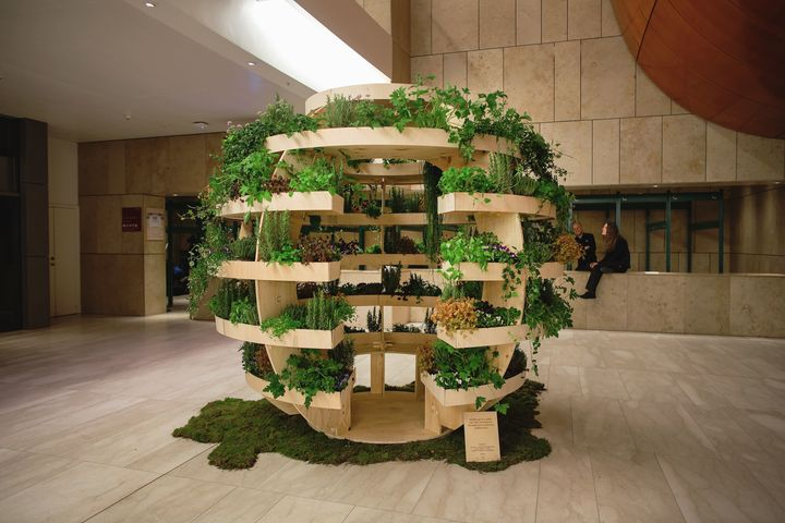 Ikea Lab Releases Free Designs For A Garden Sphere That Feeds A Neighborhood