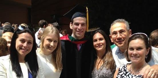David Fajgenbaum graduated from the Perelman School of Medicine at the University of Pennsylvania in 2013.