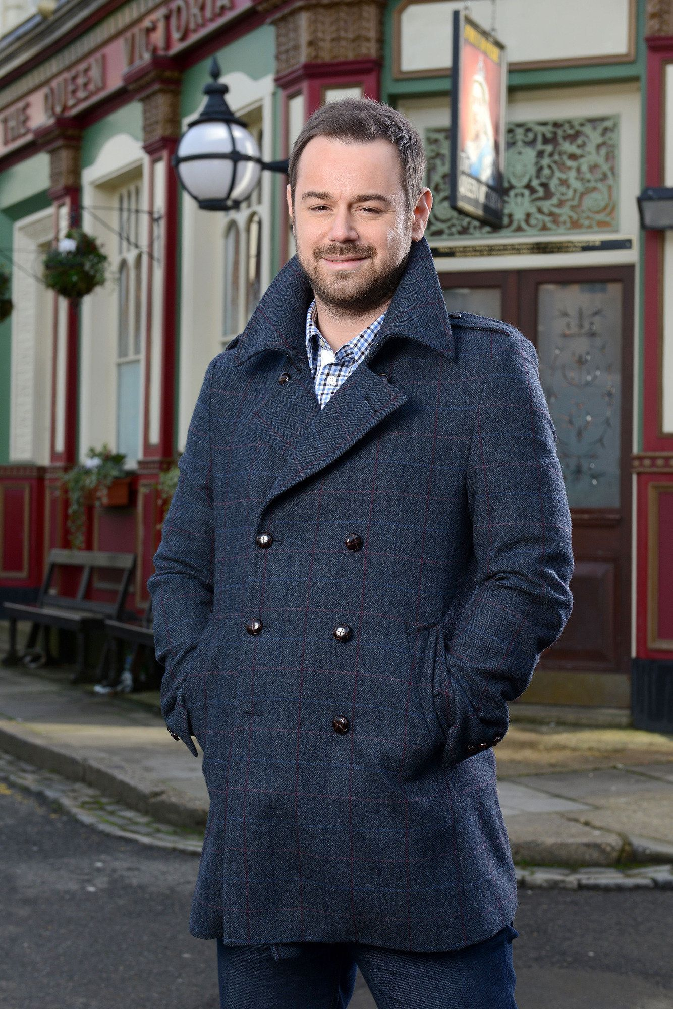 Danny Dyer plays Mick Carter on the BBC