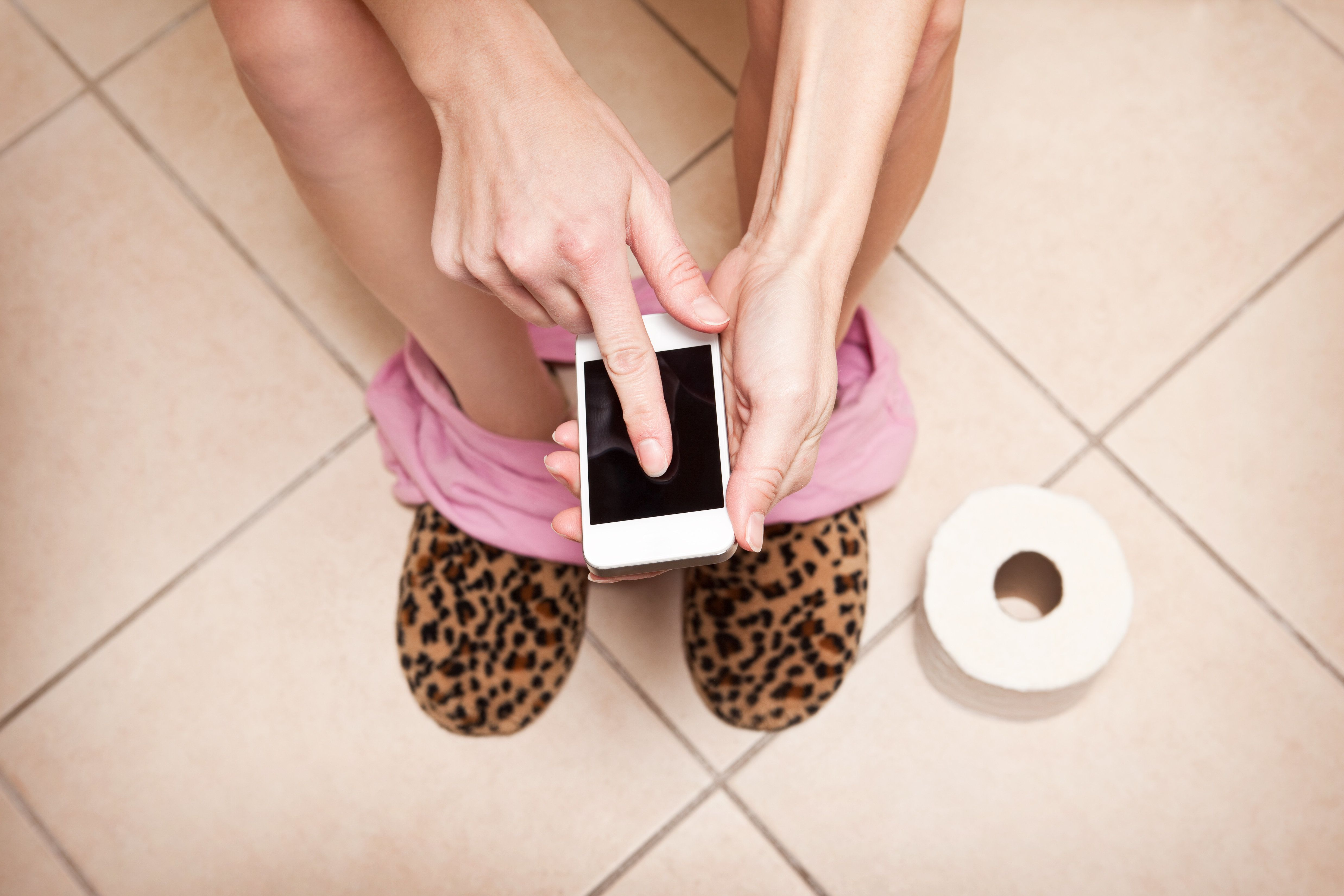 Using Your Phone On The Toilet Could Be Making You (And Your Kids) Sick