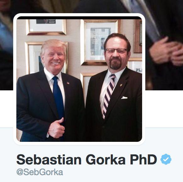 Gorka's Twitter