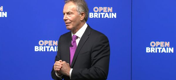 Tony Blair Blames Jeremy Corbyn And 'Savage' Eurosceptic Media For Brexit