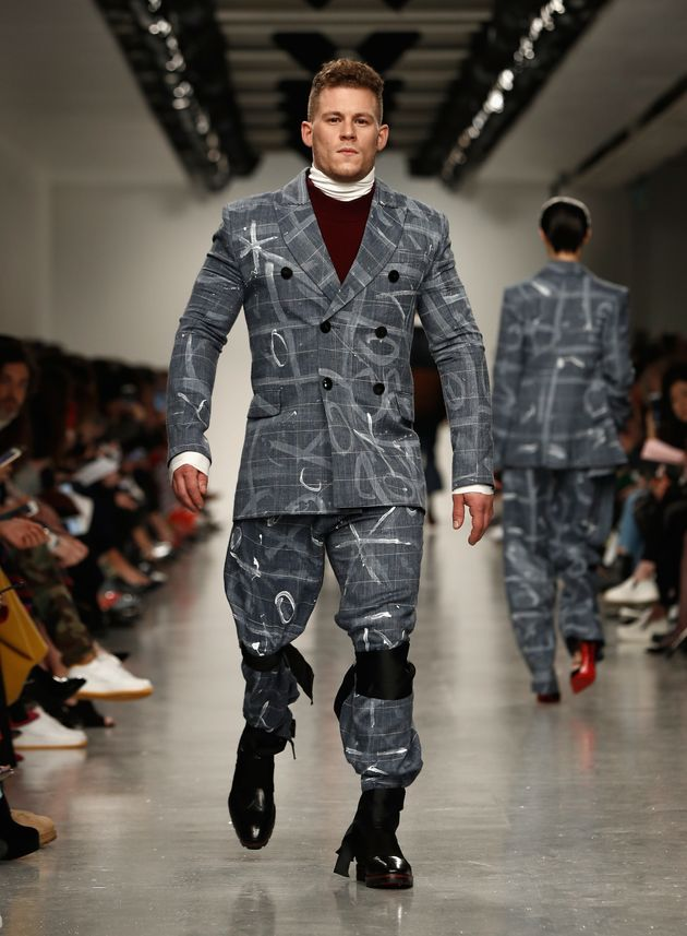 Jack Eyerson the Teatum Jones runway during the London Fashion Week on 17