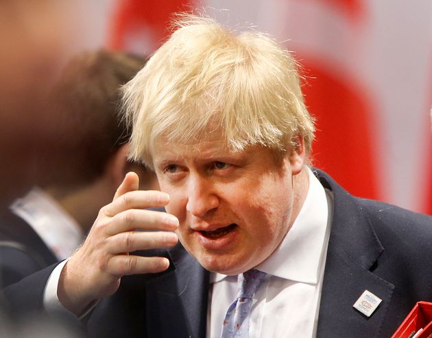 Boris Johnson called on the British public to 'rise up' and turn off the TV when Blair