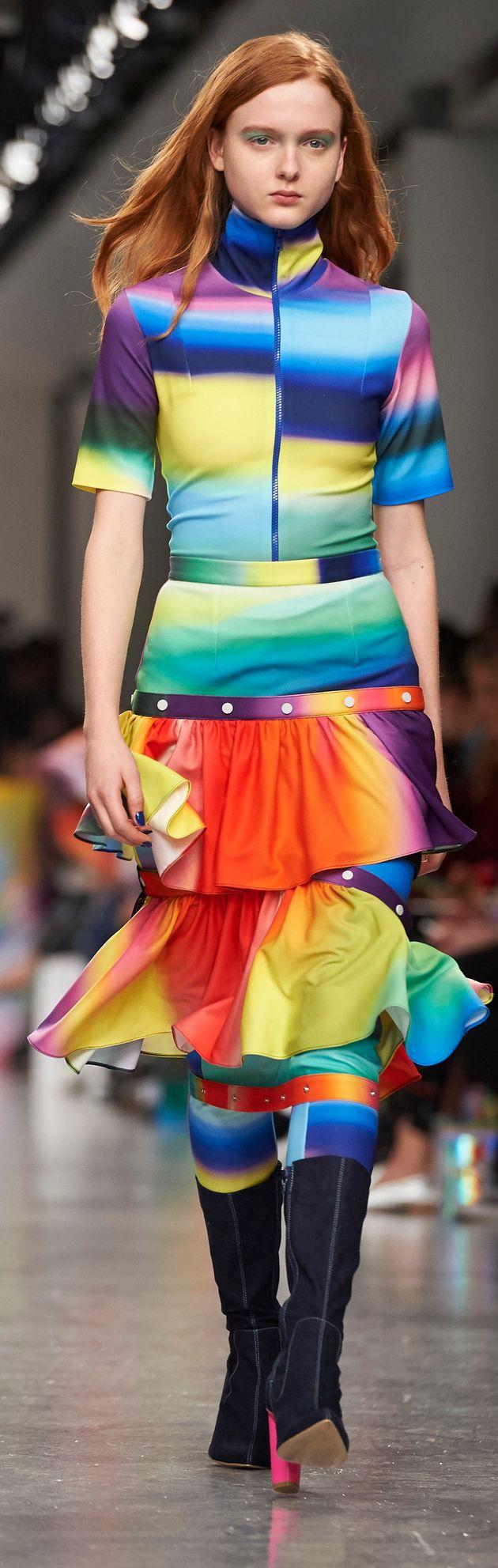 London Fashion Week 2017: Post-It Notes Made Their Runway Debut At Fyodor