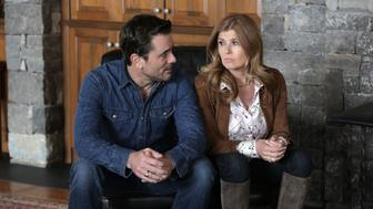 NASHVILLE - 'Baby Come Home' - Rayna and Deacon try everything they can think of to reunite with Maddie and avoid court, even involving Teddy (Eric Close) from jail. Juliette tries to rekindle her relationship with Avery, and her success on tour stokes Layla's jealousy, personally and professionally. Luke Wheeler leverages his own appearance on 'Good Morning America' with Robin Roberts to try to jump start Will Lexington's career, on 'Nashville,' WEDNESDAY, APRIL 27 (10:00-11:00 p.m. EDT), on the ABC Television Network. (Photo by Mark Levine/ABC via Getty Images) CHARLES ESTEN, CONNIE BRITTON