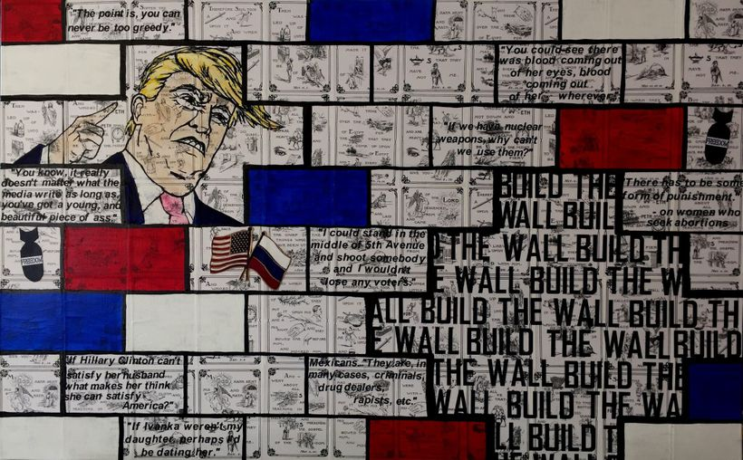 Build the Wall by Karen Guttfreund