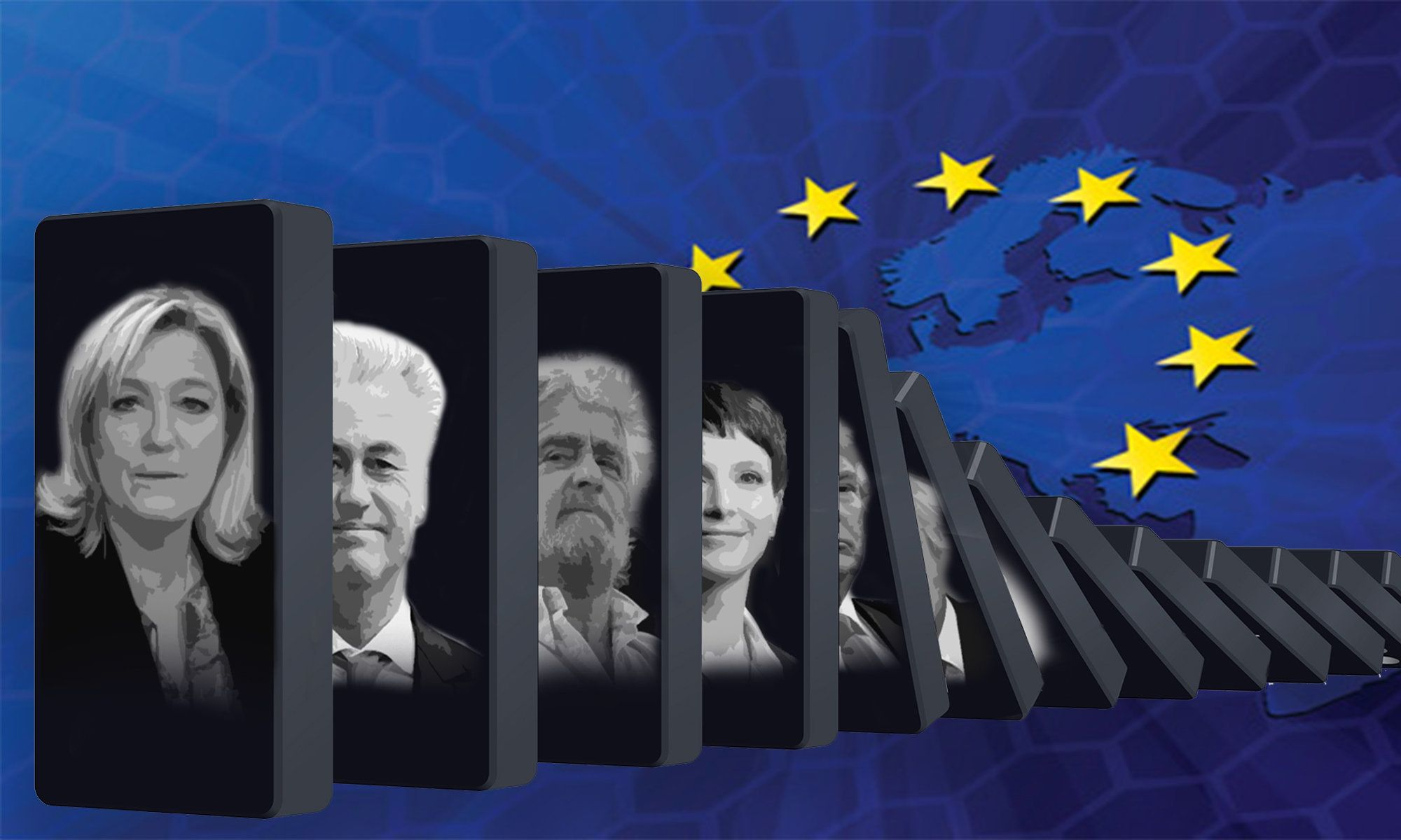 The falling dominos of a new populist wave