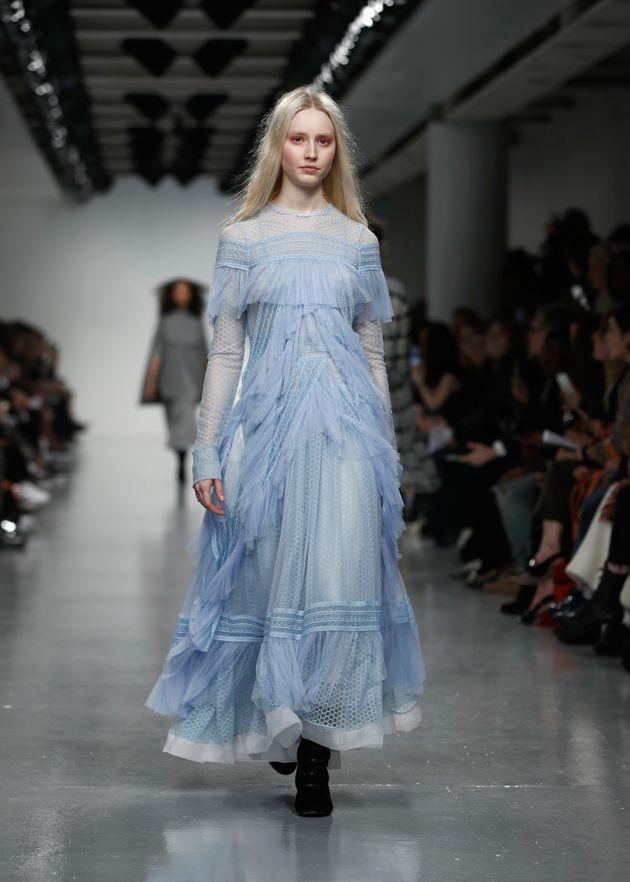 The Bora Aksu London Fashion Week show 17 February