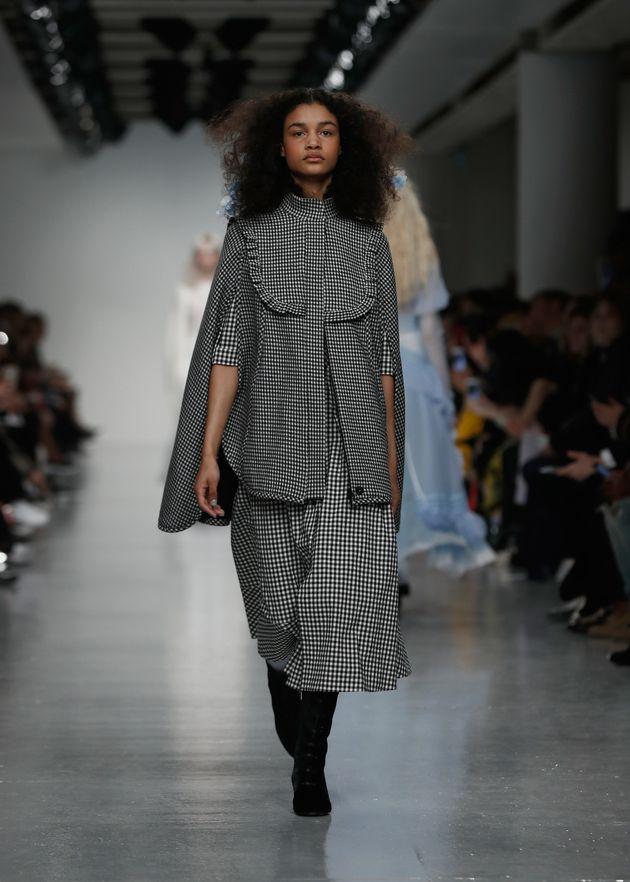 London Fashion Week 2017: Bora Aksu's Collection Inspired By Suffragette Princess Sophia Duleep