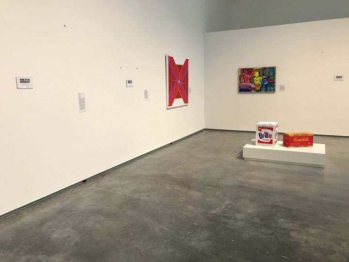<strong>Update:</strong> The Davis Museum sent The Huffington Post images of what the galleries, stripped of immigrant art, l