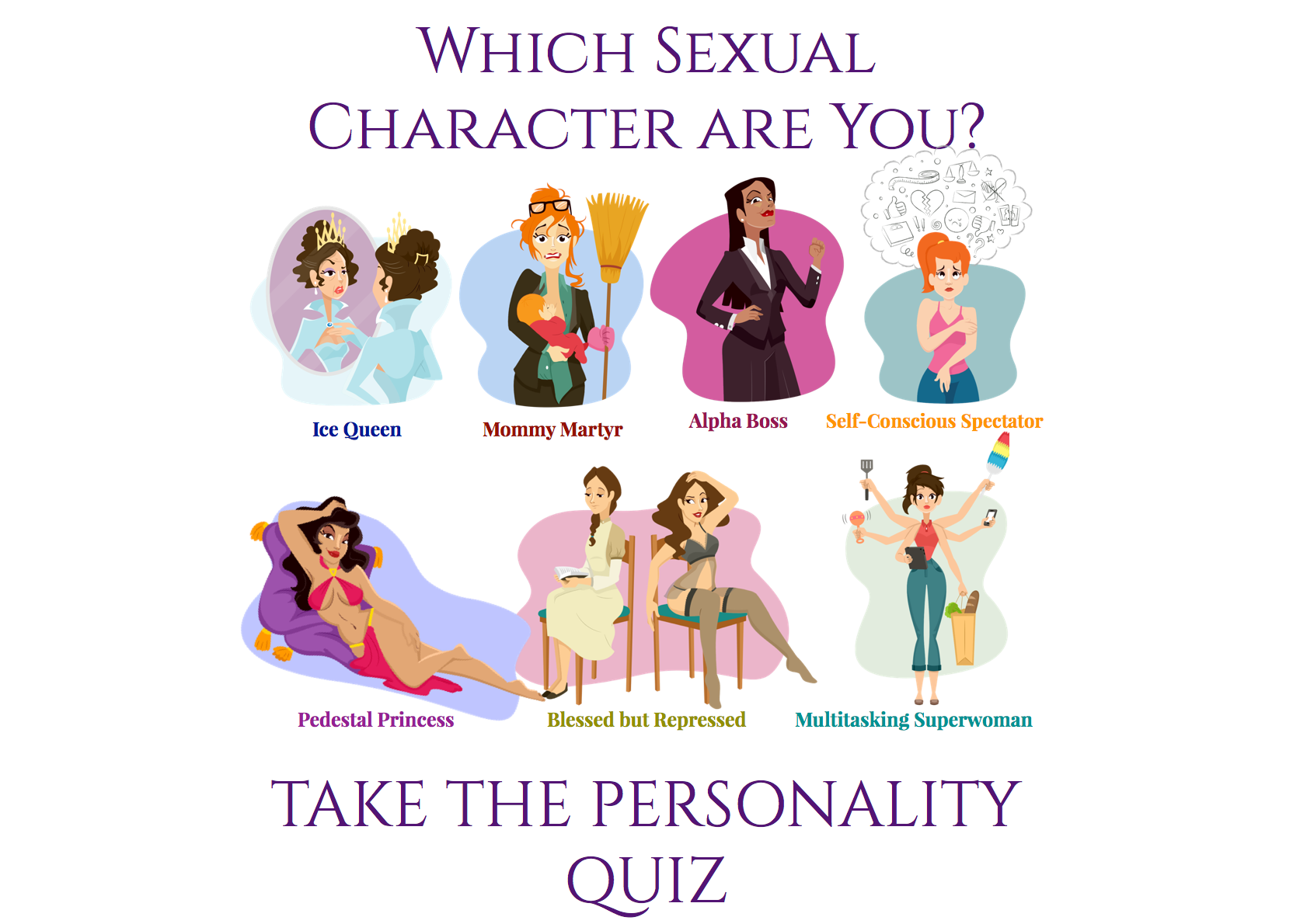 What your personality orgasm says about your personality