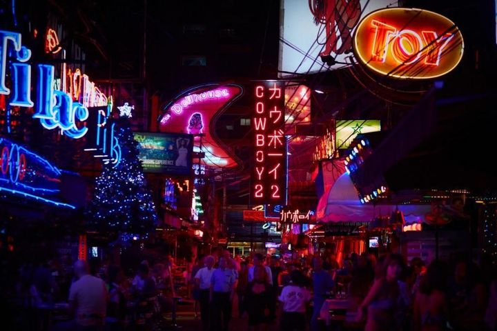 Thailand's red light district, where police raids are shutting down bars and clubs and leaving many women jobless, with