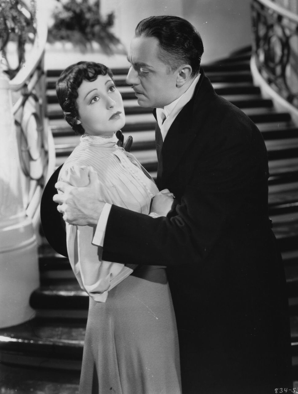 William Powell and Luise Rainer.