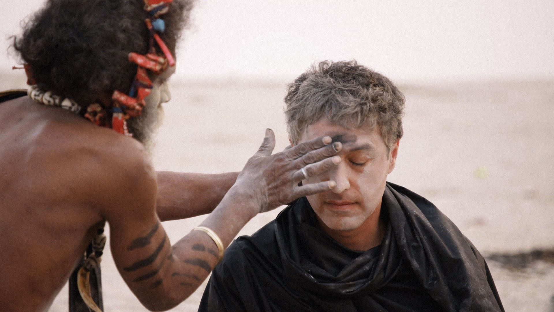 Reza Aslan participates in a ceremony with the Aghori, a Hindu sect in India.