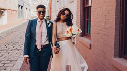 25 Two-Piece Wedding Dresses For Brides Who Dare To Be