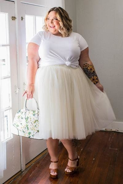 """<i>Skirt by<a href=""""https://society-plus.com/collections/society-bridal-presented-by-pretty-pear-bride/products/plus-si"""