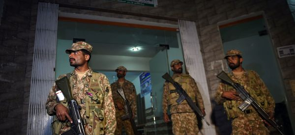 Pakistan Security Forces 'Kill 100 Terrorists' Following Suicide Shrine Attack