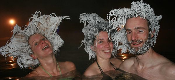 Hair Freezing Contest Is Hottest Thing In The Yukon Right Now