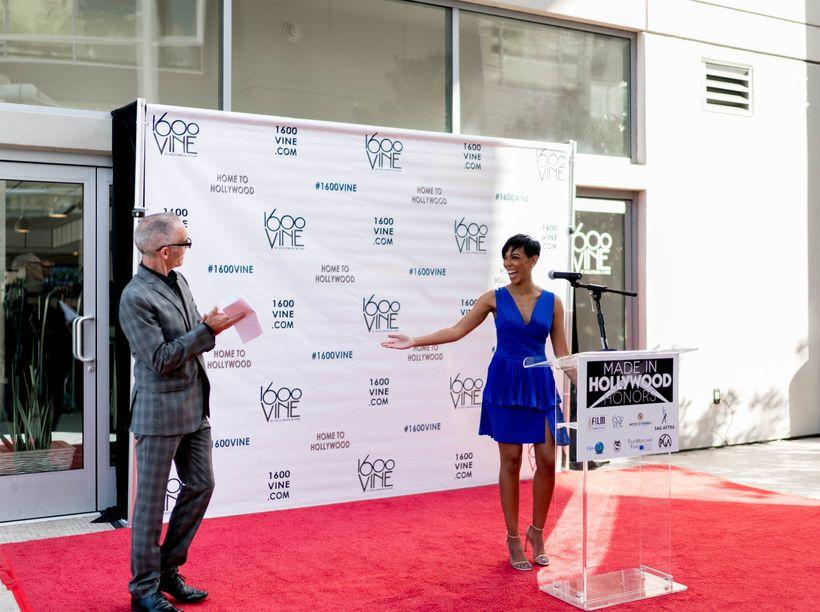 Mitch O'Farrell, Los Angeles City Councilman with host, Jazmyn Simon