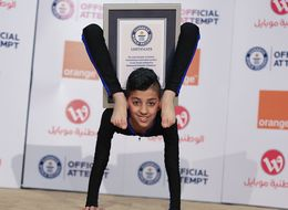 13-Year-Old 'Spider Boy' Breaks World Contortion Record