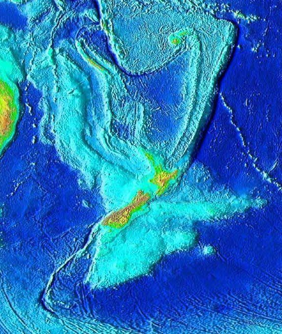 New Continent Zealandia Is Discovered