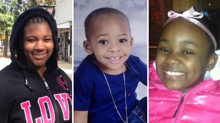 Kanari Gentry-Bowers, 12,Lavontay White Jr., 2, andTakiya Holmes, 11, were fatally shot overtwo days in sep