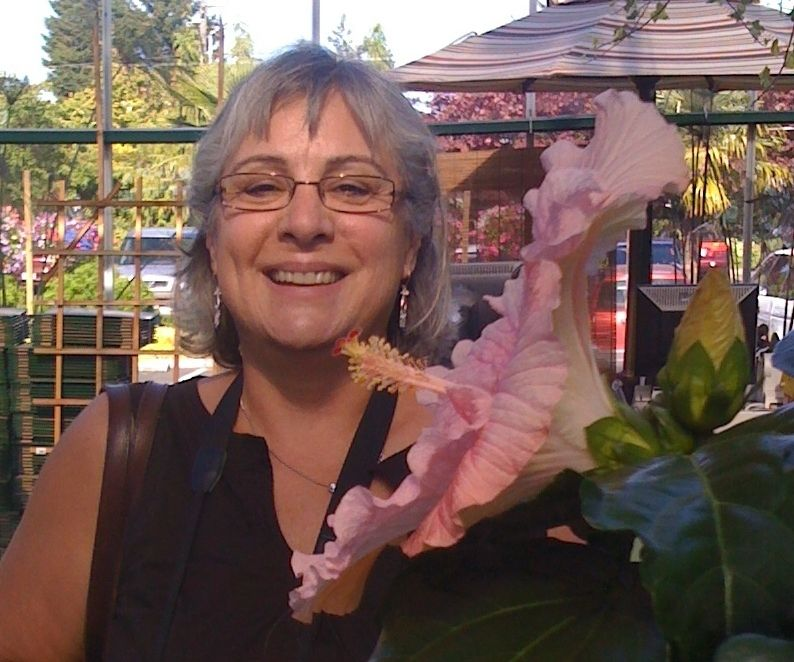 Susan Avila-Smith, Army veteran and Military Sexual Trauma (MST) advocate, founder of VetWow, shown here at Swanson's Nursery
